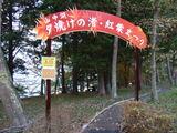 夕焼けの渚・紅葉まつり 入口