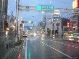 真っ直ぐ行くと高知駅です