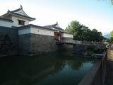 駿府城 内堀と巽櫓