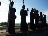 道の駅 井波 七福神像