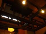 磯料理大浜 天井が高く開放的です