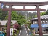 妙義神社入口の鳥居