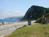 道の駅 こどまり 目の前に海があります