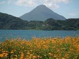 池田湖パラダイスと開聞岳