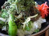 レストラン遊鶴羽 馬肉丼です
