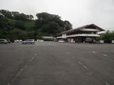 岡城展望レストランと駐車場
