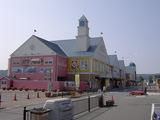 道の駅 伊東マリンタウン メルヘンチックな建物が並ぶ