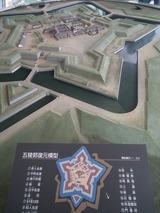 五稜郭復元模型