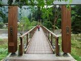 丹波川 ふれあいの橋