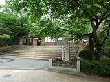 津山城跡 冠木門跡
