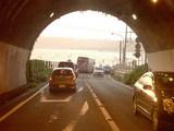飯島トンネル出口付近