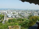 丸亀城 天守閣からの眺望
