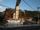 旧余部鉄橋 橋脚の一部