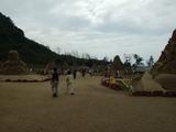 世界砂像フェスティバル 会場内の様子
