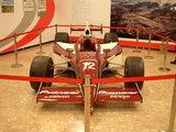 道の駅 ふじおやま 実際にレースで使用されたレーシングカー