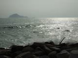 伊良湖水道と神島