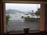 磯料理大浜 海側の席からの眺め