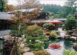 八雲庵の庭園