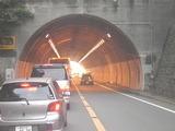 飯島トンネル入口付近
