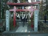 新屋山神社 山門