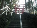 新屋山神社 階段