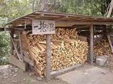 もっくんの横で薪が売られてました