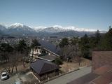 大町山岳博物館からの眺望 右側