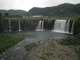 原尻の滝 正面