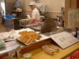 まるっぽ豆腐の店頭では厚揚げが売られていた