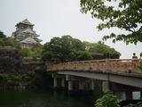 大阪城 極楽橋と大阪城天守閣