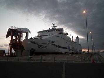 津軽海峡フェリー びなす号