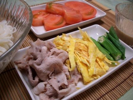 ゴマダレ素麺