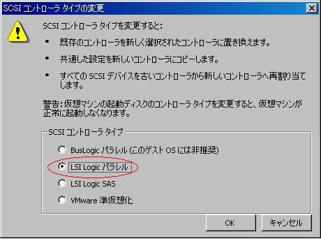 SCSIコントロールーLSILogic