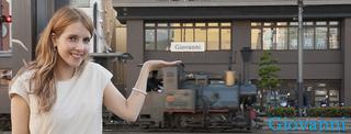 坊っちゃん列車とミカエラさん