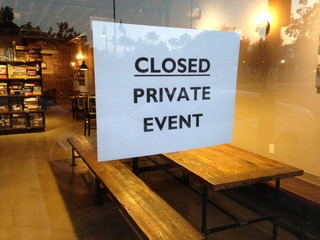 sorry-private-event