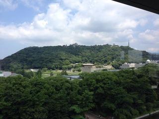 Matsuyama Castle from 東京第一ホテル