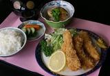 イカフライ定食①