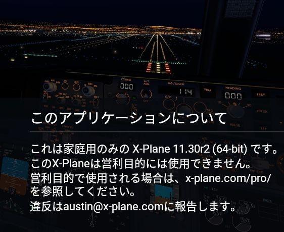 X-Plane 11 30リリース候補2 : HOTEL INDIA の blog