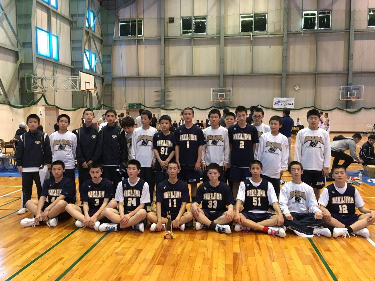 27回長野カップ 中島中学校