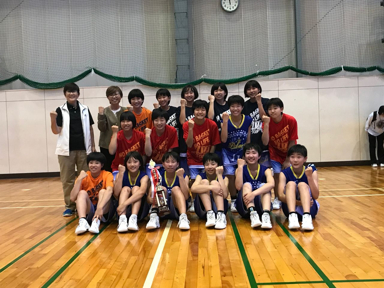 長野カップ女子強化 優勝