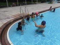 2吹上浜海浜公園初心者水泳教室