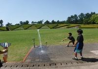 ペットボトル水ロケット(吹上7月)