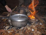 焚き火料理2