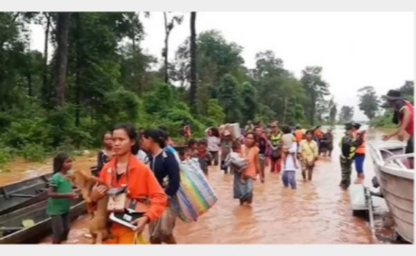 【ラオスのダム決壊】「大雨が原因」?「基準に満たない低水準の建設が原因」?ラオスと企業側で反発!!