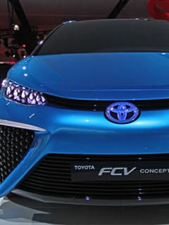 トヨタ水素自動車