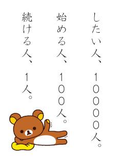 10000人