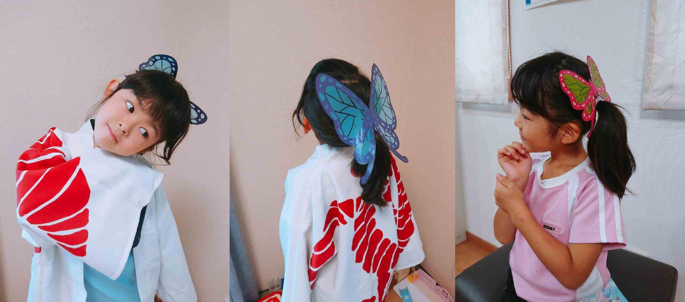 飾り カナヲ 髪