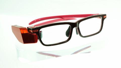 東芝が開発「GoogleGlassより見た目が自然」と豪語するメガネ型端末が終わってるwwwww
