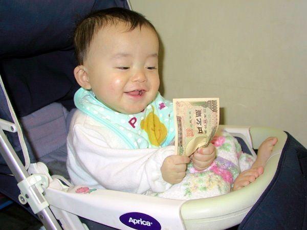 赤ちゃん金