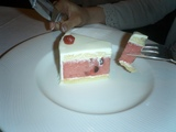 スイカのケーキ